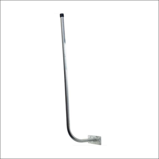 Curved Fascia Mount (Hockey Stick)